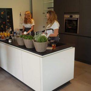 Attraktive Schüller-Einbauküche